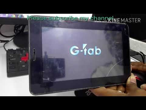 How to Hard Reset g tab and China Tablet easy step by technical