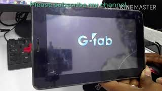 How to Hard Reset g tab and China Tablet easy step by technical nepal
