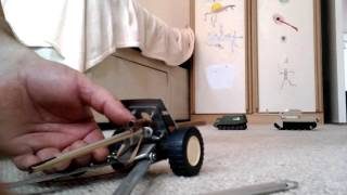 Іграшкова гармата для сина.