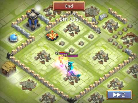 Castle Clash:Skull Knight (winner) Vs Death Knight