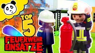 Playmobil Feuerwehr - Die 5 besten Feuerwehr Einsätze! - Playmobil Film