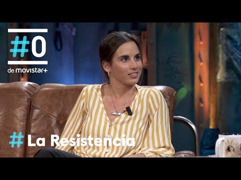 LA RESISTENCIA - Entrevista a Queralt Castellet   #LaResistencia 29.10.2019