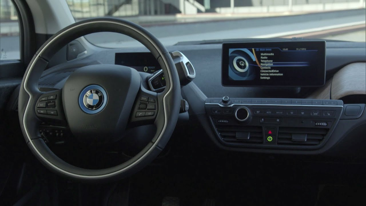 2014 bmw i3 interior youtube. Black Bedroom Furniture Sets. Home Design Ideas