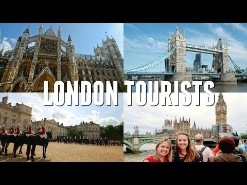 Tourists in London // Westminster Abbey, Tower Bridge, St. Paul's Cathedral, &  Hyde Park,
