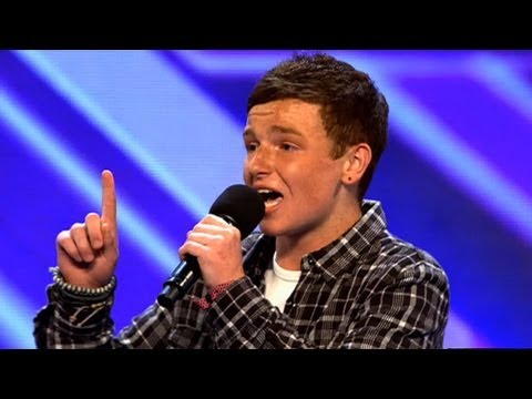 Bradley Johnson's audition - The X Factor 2011 - itv.com/xfactor