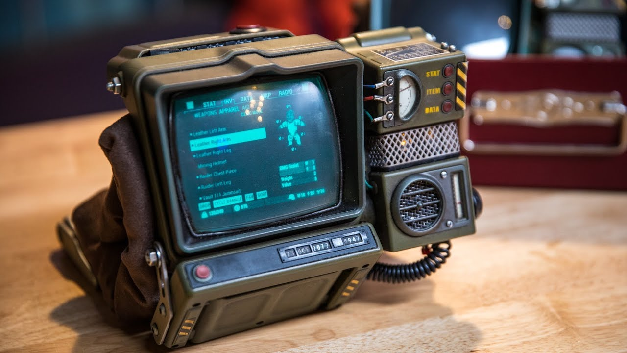 Show And Tell Pip Boy 2000 Mod YouTube