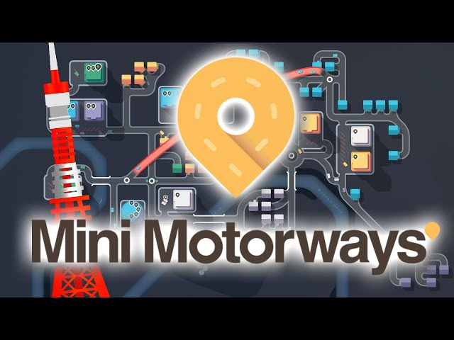 MINI MOTORWAYS | Tokyo de nuit - Gameplay FR