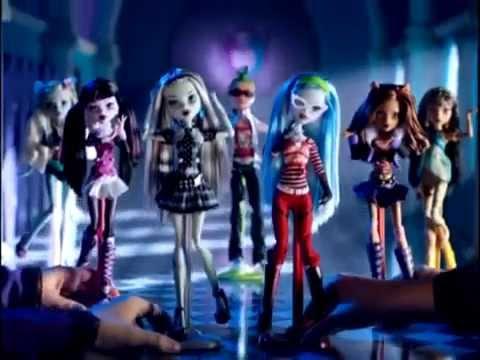 Реклама кукол Monster High Базовые 1 волна