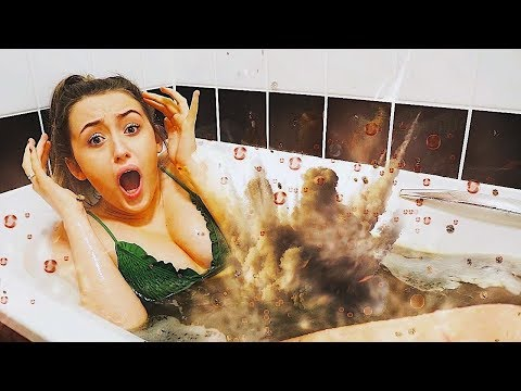 I Spent 24 Hours in COKE AND MENTOS & It was a HUGE Mistake... (Bath Challenge)
