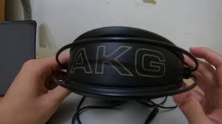 [Sharing] AKG K240 Studio with great sound AKG監聽耳機開箱