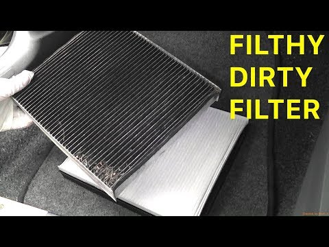 How To Change The Cabin Pollen Filter on a 2010 SEAT Ibiza MK4 6J