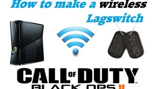 How To make a wireless lag switch for Xbox 360 / Ps3 [HD] [EN] [DE]