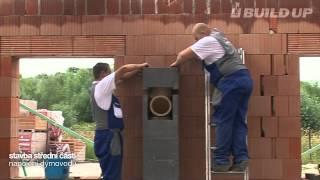 Montáž komína   návod   komínový systém BUILD UP®   DobryTahcz
