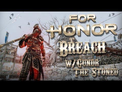 FOR HONOR: Intense match! - Reputation 60 Raider Breach w/ GundrTheStoned