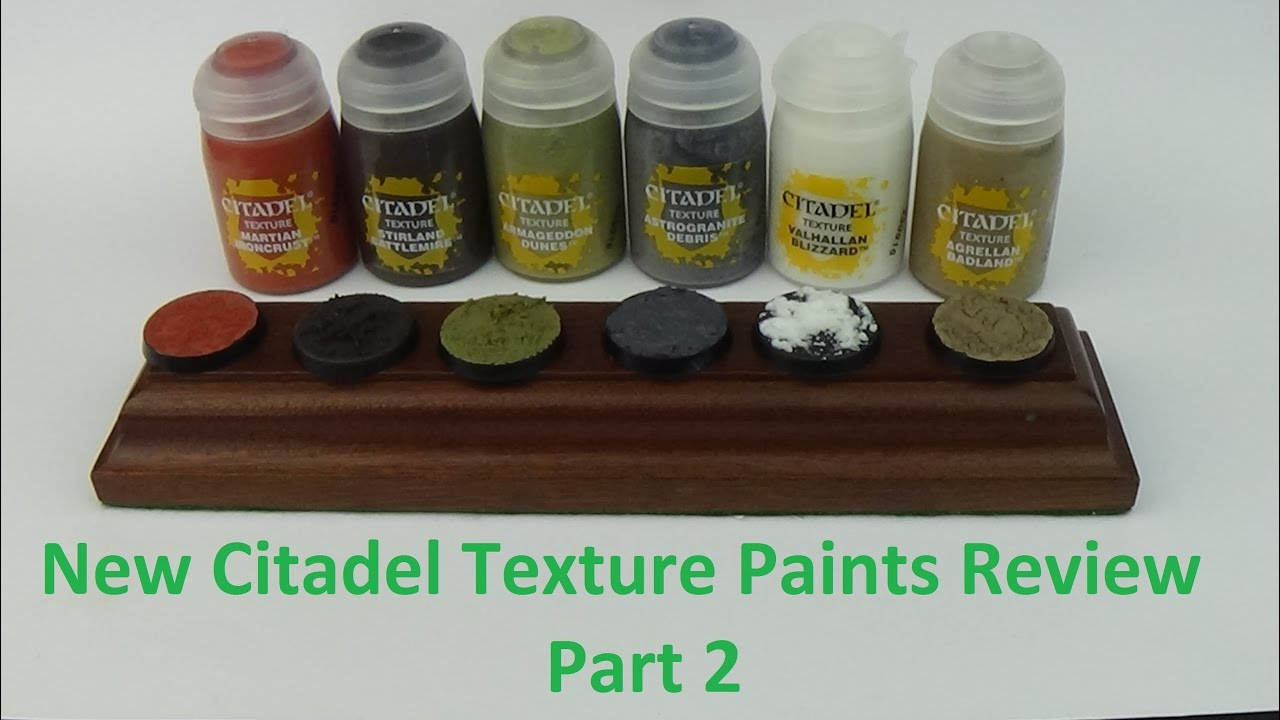 NEW Citadel Texture Paints Review 2 Astrogranite Debris Agrellan