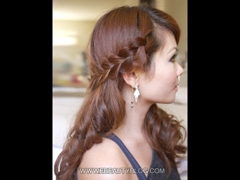 Hair Tutorial: Romantic Bohemian Braids