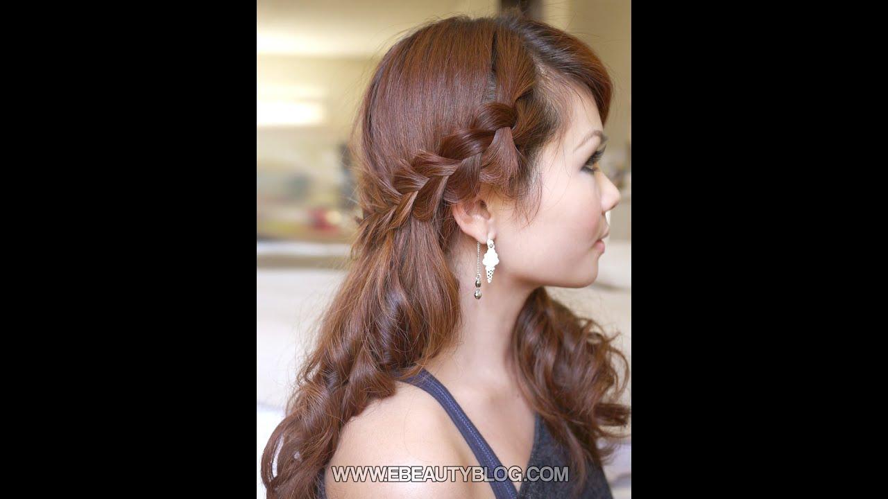 Hairstyle Ki Video : Hair Tutorial: Romantic Bohemian Braids - YouTube