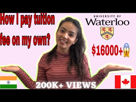 How I pay my Tuition fees in CANADA on my own? | International student in CANADA | $16,000+