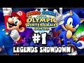 Mario & Sonic At the 2014 Sochi Winter Olympic Games - (1080p) Legends Showdown Part 1
