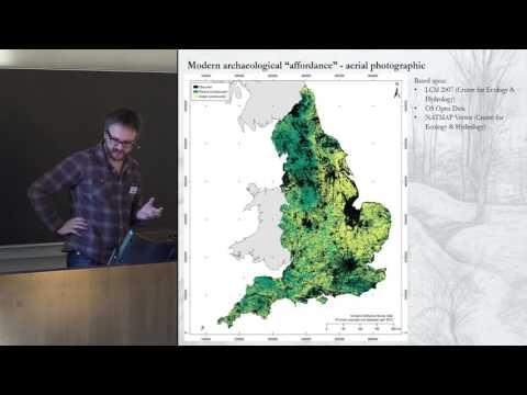 Modelling evidence densities: past population variation or modern structuring affordances
