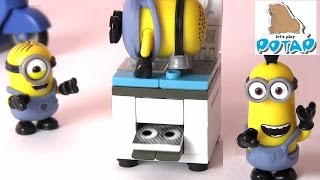 Миньоны и Копировальная Машина! Миньоны Мультик. Игрушки для Детей. Игры для Детей