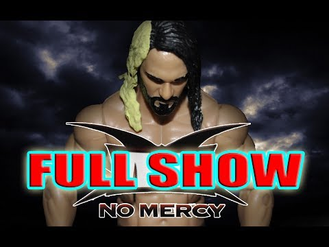SNA No Mercy PPV FULL SHOW (WWE Figure Stop Motion)