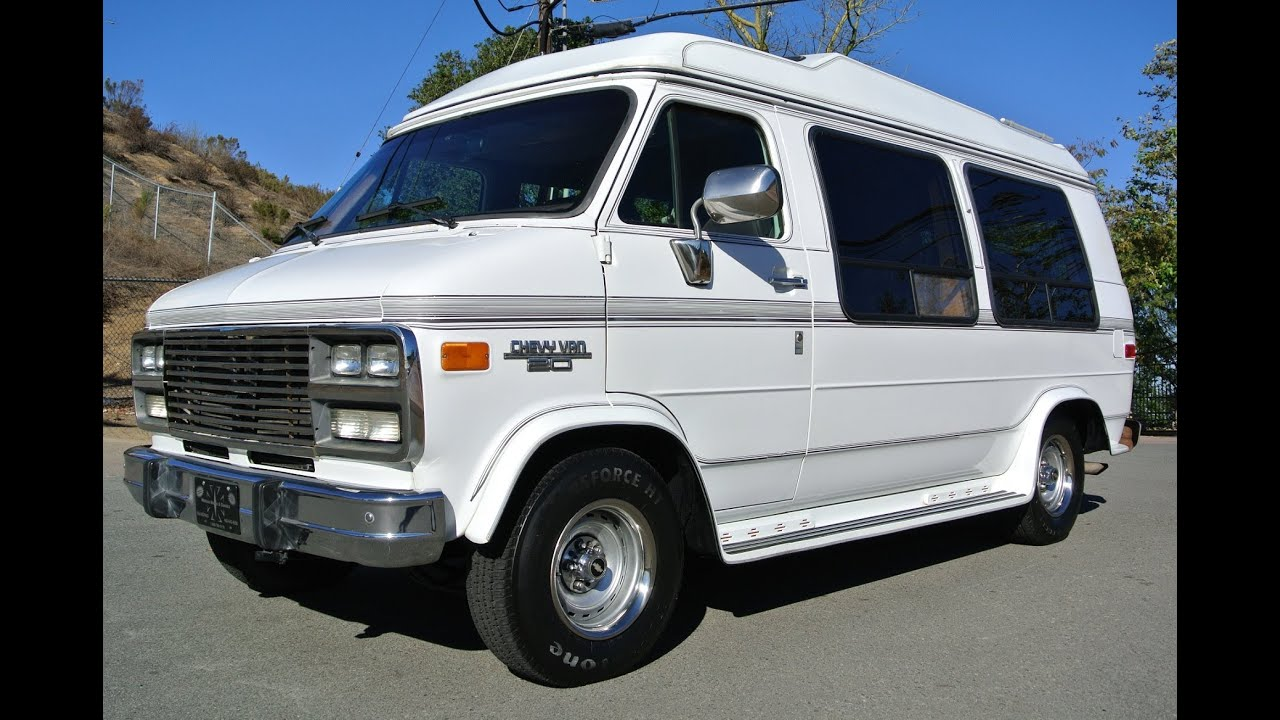 Chevrolet G20 Conversion van Solar mini RV 350 Explorer W/Bed SUV ...