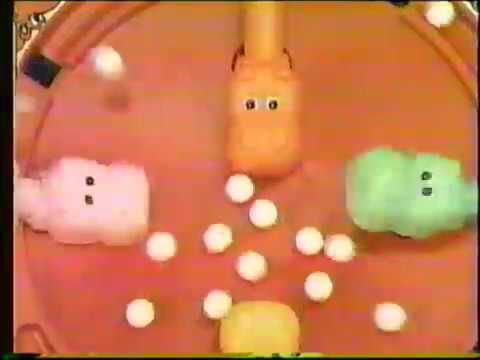 Hungry Hungry Hippos commercial - 1986