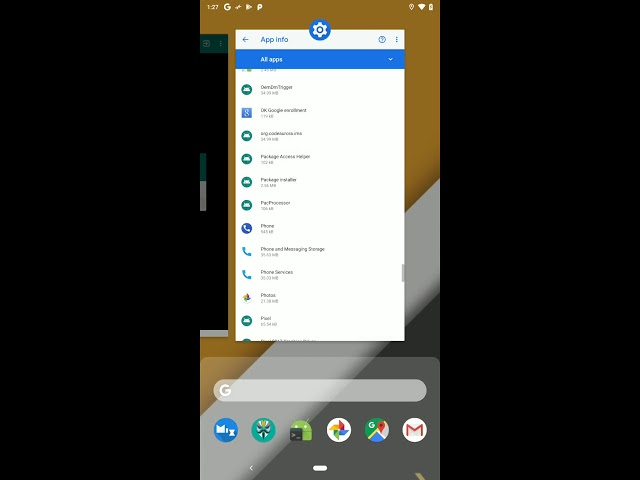 Android Pie opens up recent apps customization for third