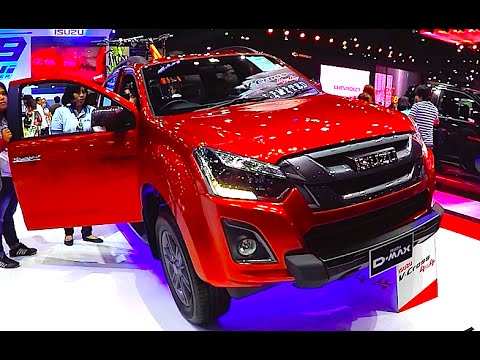 New Pickup Isuzu D-MAX 2016, 2017, V Cross, DDI, 4x4 - YouTube