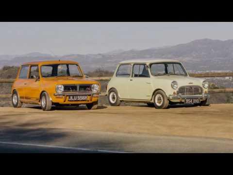 Mini Cooper S2 and Mini 1275 GT