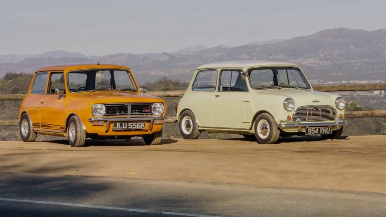 Mini Cooper S2 And Mini 1275 Gt Youtube