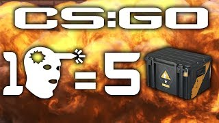 ⚡ 1 KILL NA PADZIE = 5 SKRZYNEK ⚡ COUNTER STRIKE GLOBAL OFFENSIVE ⚡ CS:GO