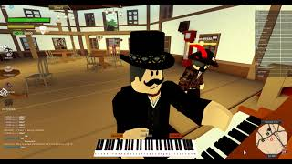 Playing the USSR Anthem on Piano (Roblox)