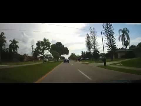 Driving Around Fort Myers, North Fort Myers, and Cape Coral, Florida