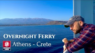 Full Tour Athens Overnight Ferry Cabin Minoan Lines | Travel Day