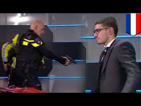 Crazed gunman storms Dutch news studio, demands to address nation, then arrested