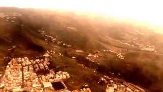 Aterrizaje en el aeropuerto de Tenerife Norte