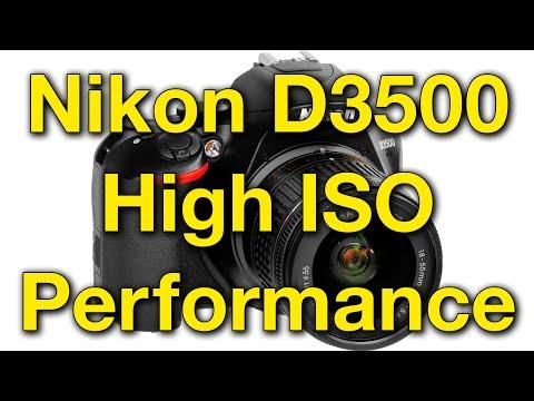 Nikon D3500 High ISO Performance - YouTube