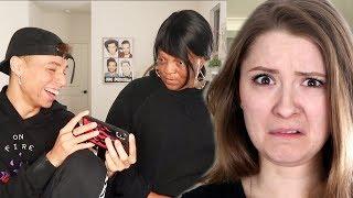 INTRODUCING TIKTOK TO MY GRANDMA - Larray Reaction