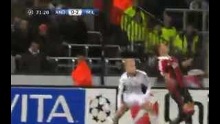 MEXES ROVESCIATA GOL INCREDIBILE HD \\ ANDERLECHT vs MILAN - 21/11/12