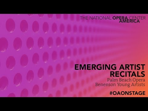Emerging Artist Recital: Palm Beach Opera Benenson Young Art