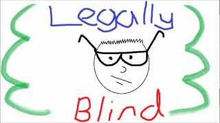 Legally Blind 1: Buying a Desk