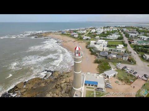 Video aéreo del balneario José Ignacio, Uruguay desde lo Alto