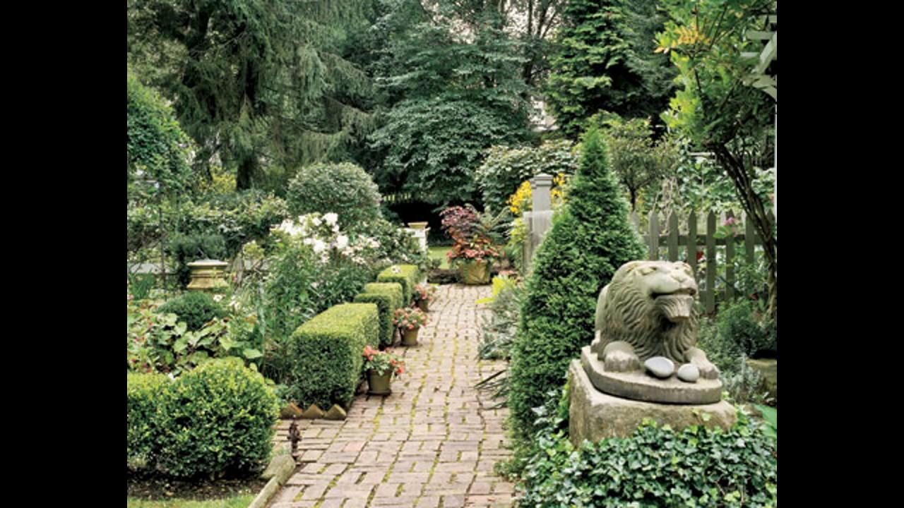 Best Formal garden design YouTube