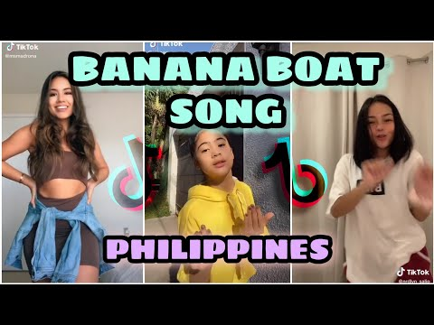 Day-O Banana Boat Song Remix /w Tutorial | TIKTOK PHILIPPINES COMPILATION