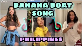 Day-O Banana Boat Song Remix /w Tutorial   TIKTOK PHILIPPINES COMPILATION