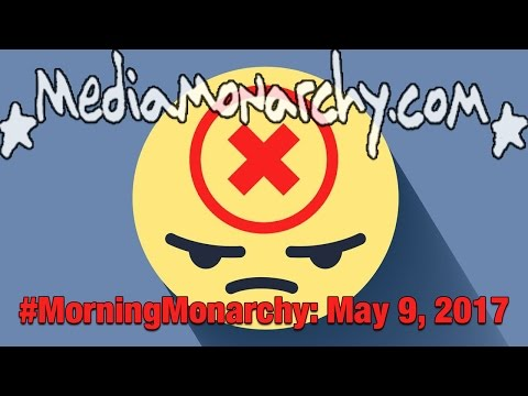 Drone TV & Playing Greyball on #MorningMonarchy: #May9, 2017
