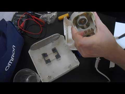 Ремонт ингалятора небулайзера
