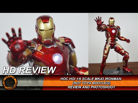 HOC HOI Ironman Mk43 (Hot Toys bootleg) Figure Review and Photoshoot